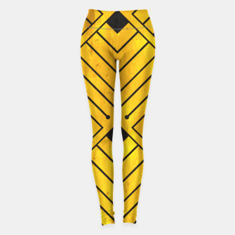 Art Deco - Golden Age - 07 Leggings thumbnail image