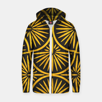 Art Deco - Golden Age - 09 Zip up hoodie thumbnail image