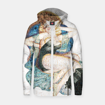 Thumbnail image of Pin-Up That Blond Girl Zip up hoodie, Live Heroes
