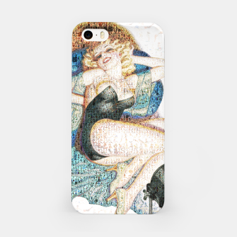 Thumbnail image of Pin-Up That Blond Girl iPhone Case, Live Heroes