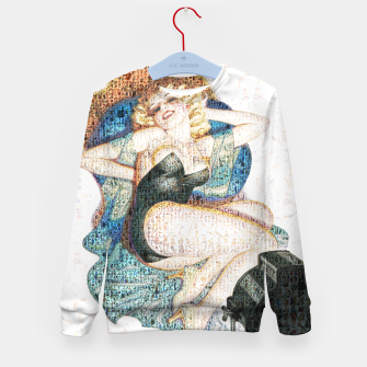 Thumbnail image of Pin-Up That Blond Girl Kid's sweater, Live Heroes