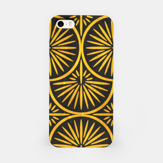 Miniatur Art Deco - Golden Age - 09 iPhone Case, Live Heroes