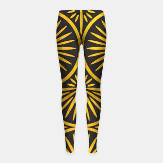 Art Deco - Golden Age - 09 Girl's leggings thumbnail image