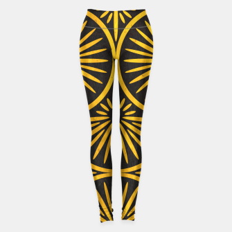 Art Deco - Golden Age - 09 Leggings Bild der Miniatur