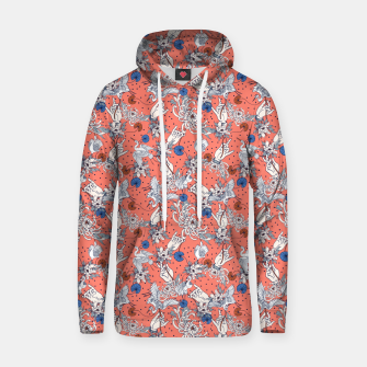 Thumbnail image of Flowered Asian illustration Sudadera con capucha, Live Heroes