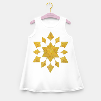 Thumbnail image of Communication Wealth Amulet on white Girl's summer dress, Live Heroes