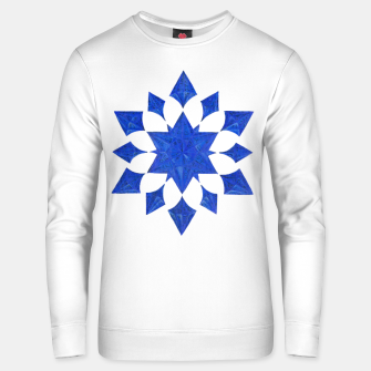 Communication Wealth Amulet Blue Unisex sweater thumbnail image