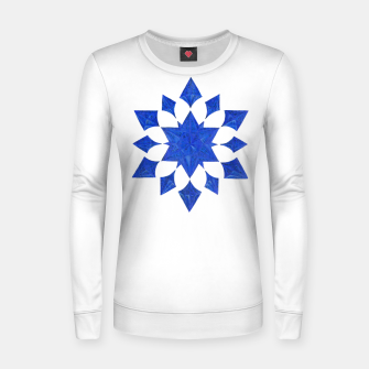 Communication Wealth Amulet Blue Women sweater thumbnail image