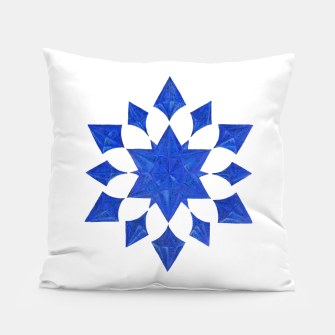 Miniatur Communication Wealth Amulet Blue Pillow, Live Heroes