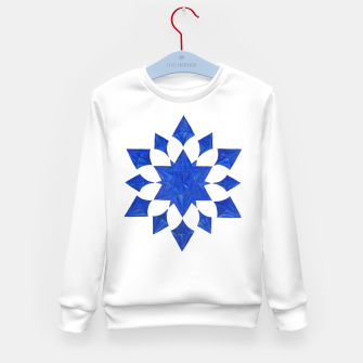 Thumbnail image of Communication Wealth Amulet Blue Kid's sweater, Live Heroes