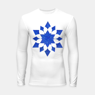 Miniatur Communication Wealth Amulet Blue Longsleeve rashguard , Live Heroes