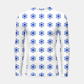 Thumbnail image of Communication Wealth Amulet Blue Pattern Longsleeve rashguard , Live Heroes