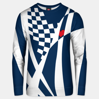 Thumbnail image of Racing Heart Unisex sweater, Live Heroes
