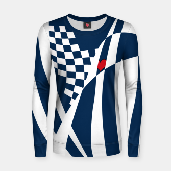 Thumbnail image of Racing Heart Women sweater, Live Heroes