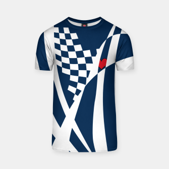 Thumbnail image of Racing Heart T-shirt, Live Heroes
