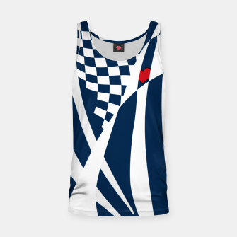 Thumbnail image of Racing Heart Tank Top, Live Heroes