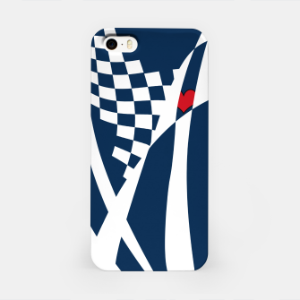 Thumbnail image of Racing Heart iPhone Case, Live Heroes