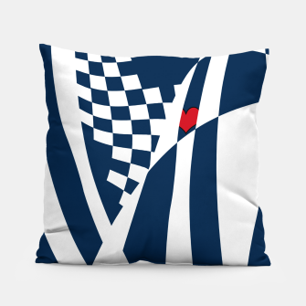 Thumbnail image of Racing Heart Pillow, Live Heroes