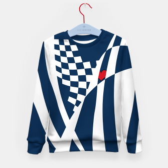 Thumbnail image of Racing Heart Kid's sweater, Live Heroes