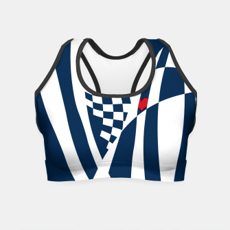 Miniature de image de Racing Heart Crop Top, Live Heroes