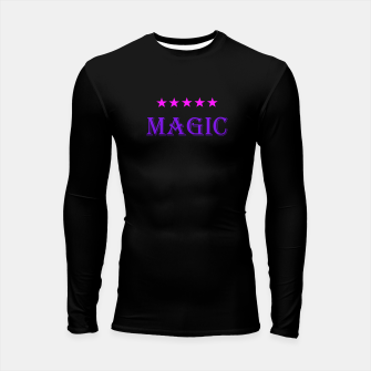 Thumbnail image of Arami Sheik's 5 Stars Magic  Mens Longsleeve Rashguard Designs., Live Heroes