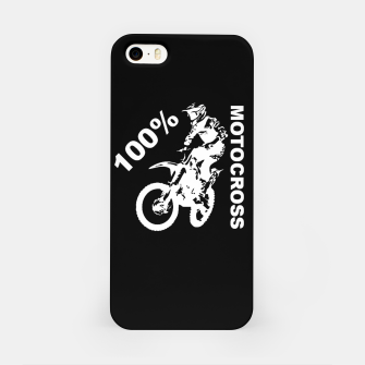 Thumbnail image of Motocross MX Racing Dirt Bike iPhone Case, Live Heroes