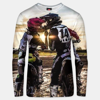 Thumbnail image of Motocross Racing Mx Unisex sweater, Live Heroes