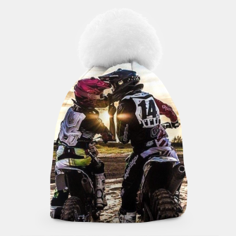 Thumbnail image of Motocross Racing Mx Beanie, Live Heroes