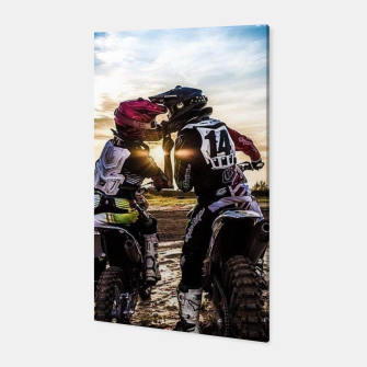 Thumbnail image of Motocross Racing Mx Canvas, Live Heroes