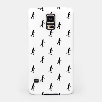 Miniaturka Skating Motif Graphic Silhouette Print Pattern Samsung Case, Live Heroes