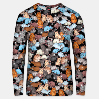 Miniature de image de Winter mices Unisex sweater, Live Heroes
