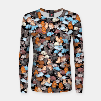 Miniature de image de Winter mices Women sweater, Live Heroes