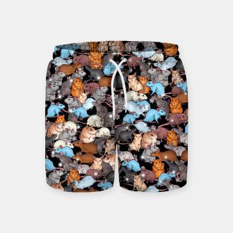 Thumbnail image of Winter mices Swim Shorts, Live Heroes