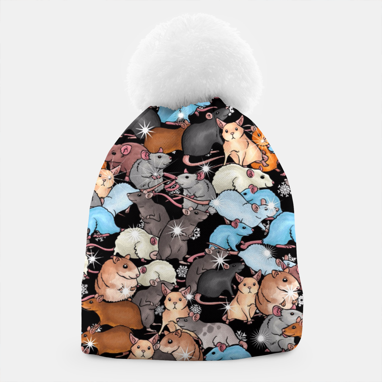 Image of Winter mices Beanie - Live Heroes