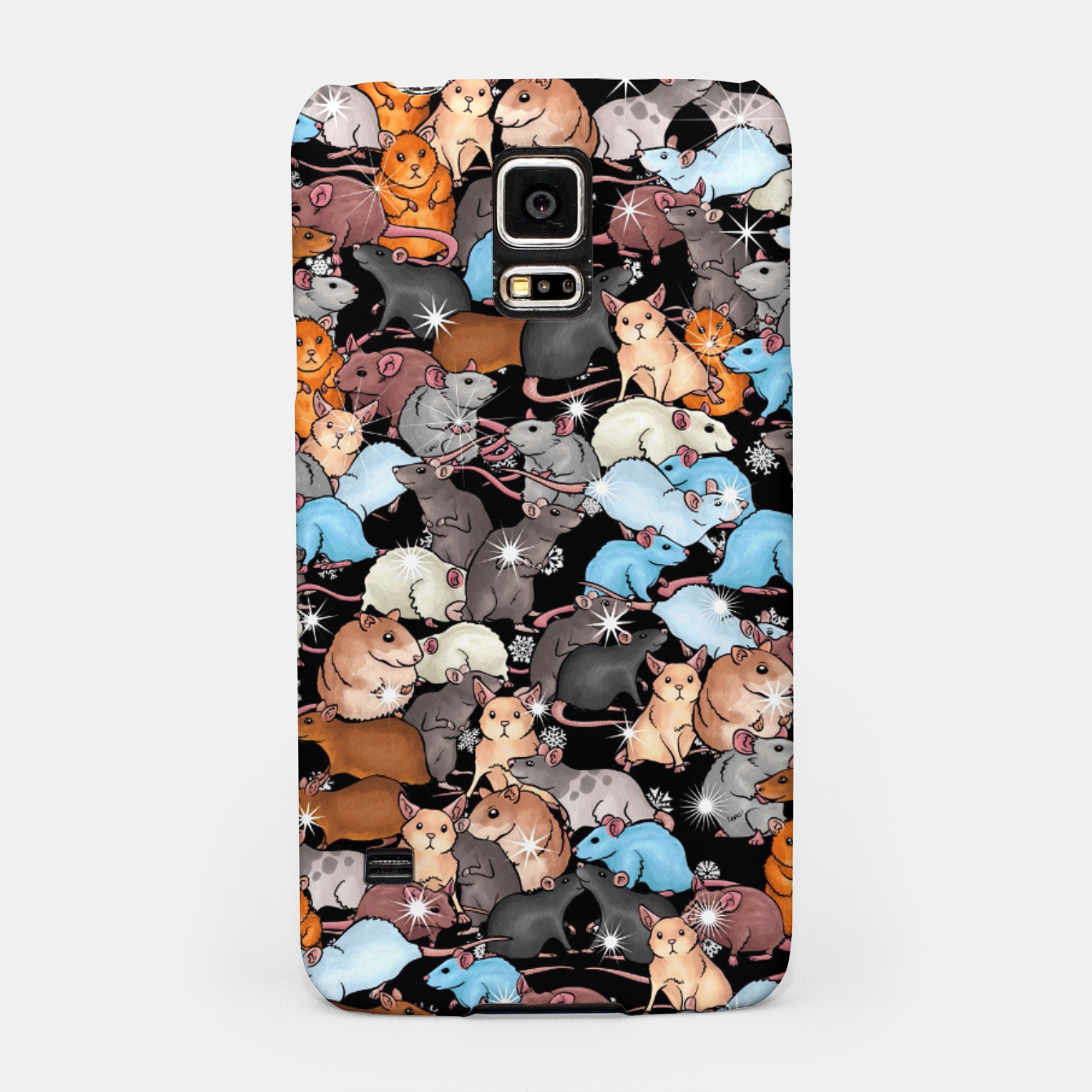 Image of Winter mices Samsung Case - Live Heroes