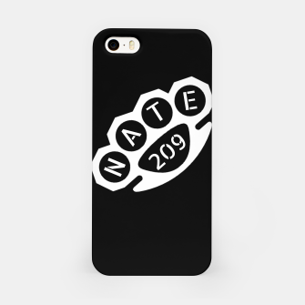 Miniatur Nate Diaz Stockton 209 iPhone Case, Live Heroes