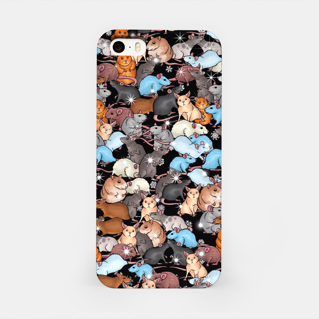 Image of Winter mices iPhone Case - Live Heroes
