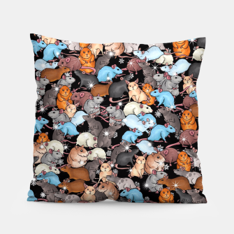 Winter mices Pillow thumbnail image