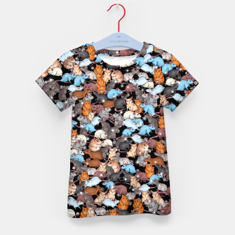 Thumbnail image of Winter mices Kid's t-shirt, Live Heroes