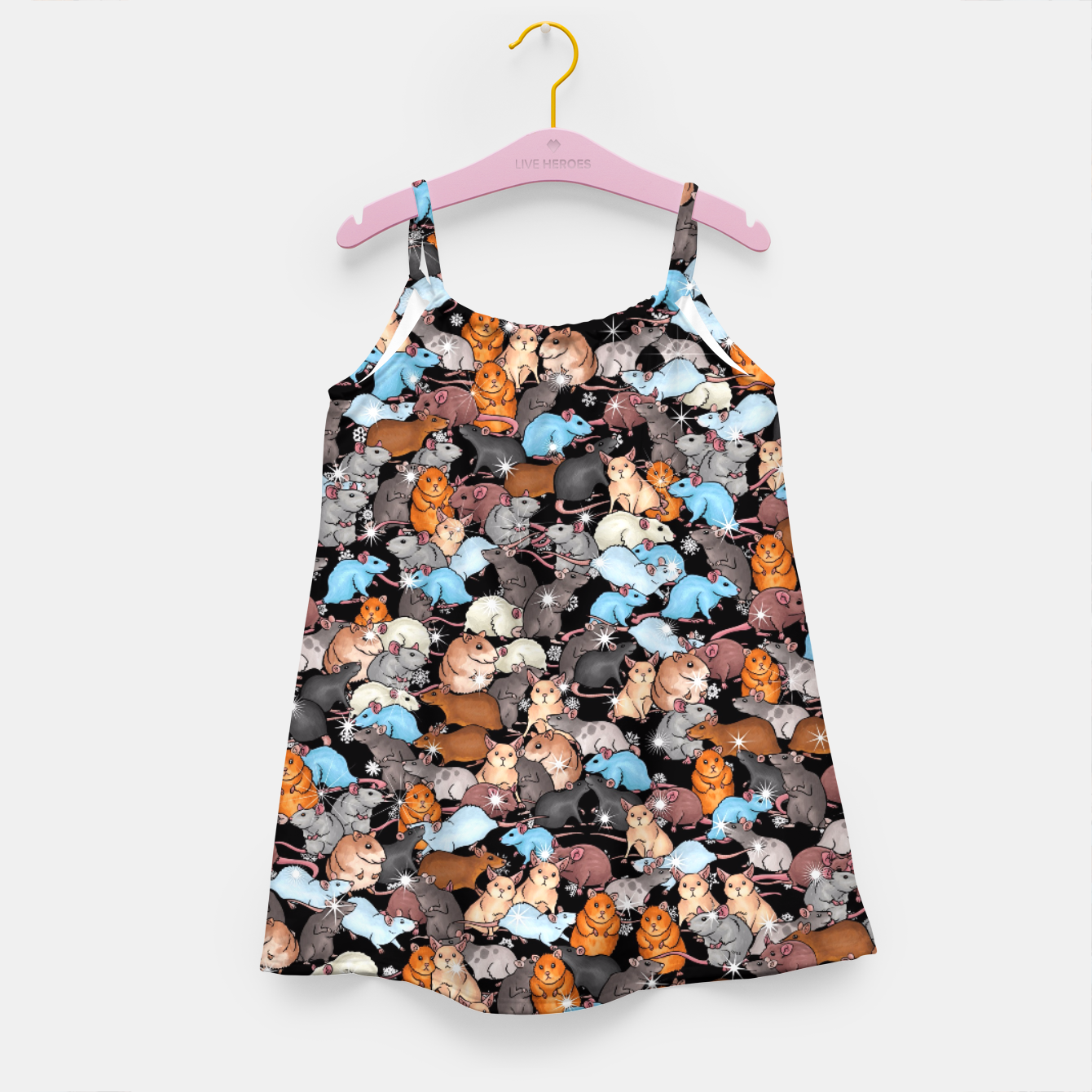 Image of Winter mices Girl's dress - Live Heroes