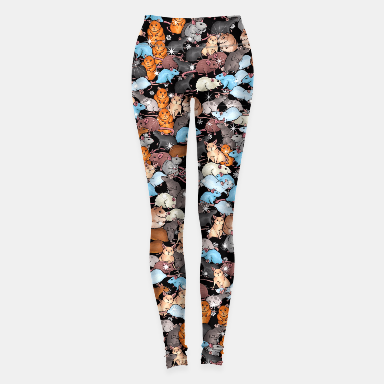 Image of Winter mices Leggings - Live Heroes