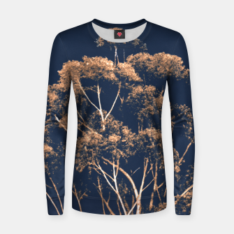 Imagen en miniatura de Botanical Decor Artwork Women sweater, Live Heroes