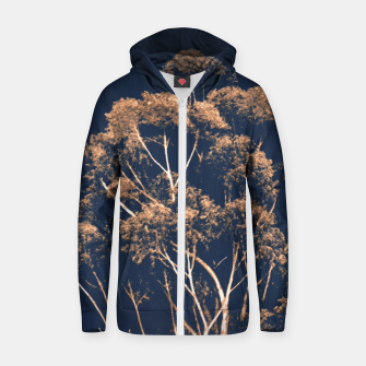 Imagen en miniatura de Botanical Decor Artwork Zip up hoodie, Live Heroes
