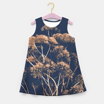 Imagen en miniatura de Botanical Decor Artwork Girl's summer dress, Live Heroes