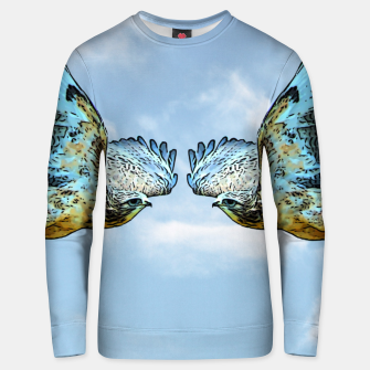 Thumbnail image of Face to face Unisex sweatshirt, Live Heroes