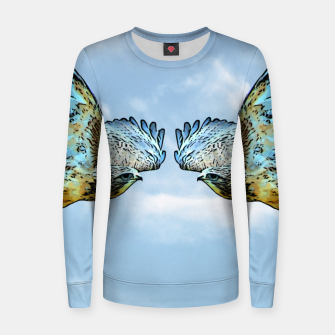 Thumbnail image of Face to face Frauen sweatshirt, Live Heroes