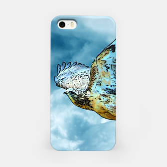 Thumbnail image of Falcon in the sky iPhone-Hülle, Live Heroes