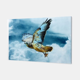 Thumbnail image of Falcon in the sky Canvas, Live Heroes