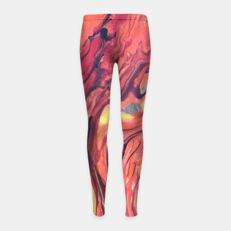 Miniature de image de Fire Girl's leggings, Live Heroes