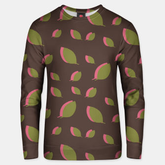 Thumbnail image of Autumn leaves green brown Unisex sweater, Live Heroes